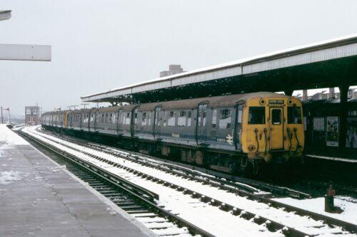 British Rail DMU M28373 Rock Ferry March 1979 Rail Photo