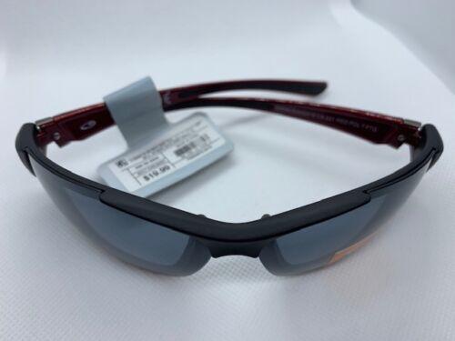 NWT  MENS Champion C9  POLARIZED sunglasses active sport wrap Black w Red new 01