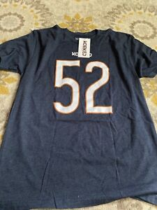 Mack 52 Chicago Bears T-Shirt NFL Men/'s Name and Number T-Shirt New