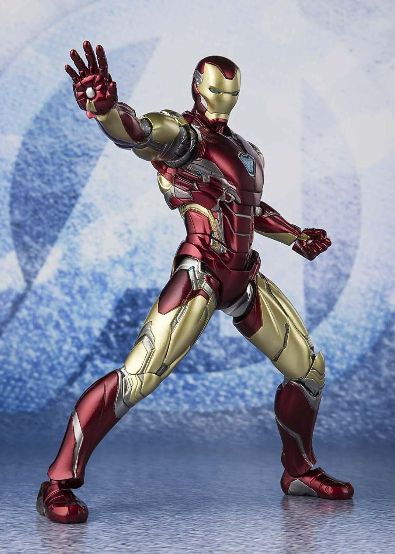 BANDAI S.H. Figuarts Figura Los Vengadores Iron Man Mark 85 final juego Japón Nueva Oficial