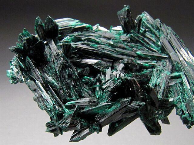 Brochantite Crystals, Milpillas, Sonora, Mexico