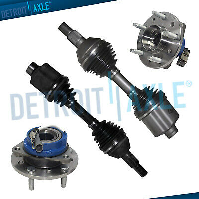 Front CV Axle Shafts Outer Pair with Removal Tool for Malibu Alero Aura G6 New