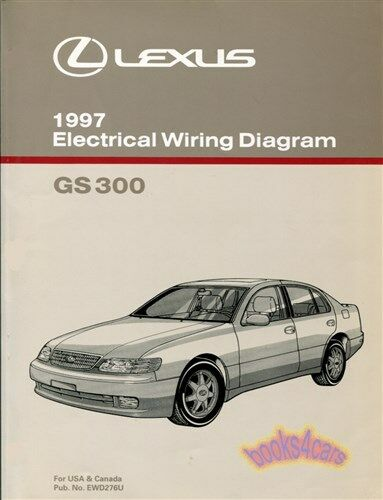Shop Manual Gs300 1997 Lexus Electrical Wiring Diagram
