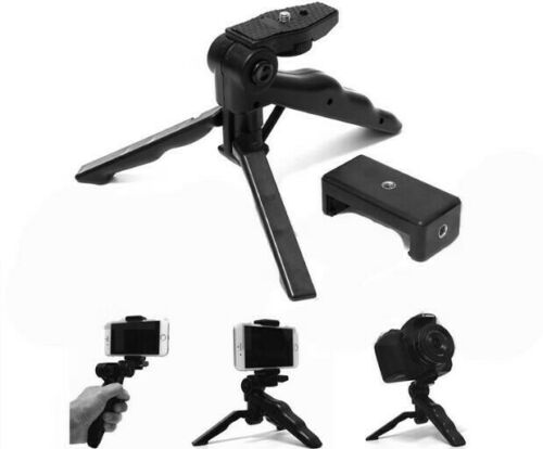 Mini Pistol Tripod Bracket Holder Mount +Universal CLIP for iPhone Smartphone