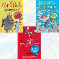 David Walliams Collection 3 Books Set,Billionaire Boy,Boy in the Dress,Mr Stink