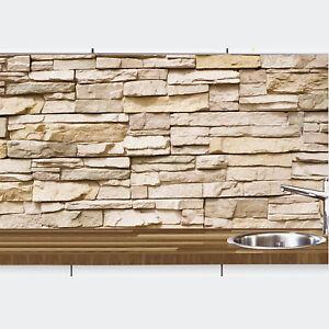 1a k chennischen deko wand k chen spritzschutz wandschutz motiv naturstein 68 ebay. Black Bedroom Furniture Sets. Home Design Ideas