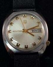 Bulova Accutron 218 1976(N6) stainless steel phased for new batterie