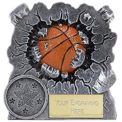 A1549a Resin Basketball Trophy Size 7.5 Cm Free Engraving Wees Onthouden In Geldzaken