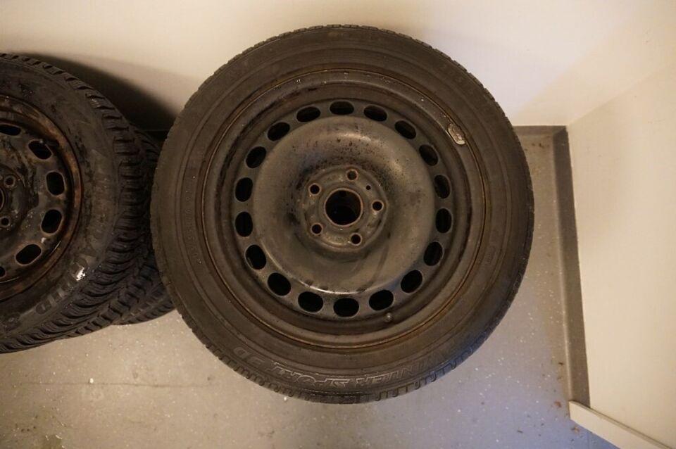"VW Passat - Golf - Touran 16"" Vinterhjul med VW..."