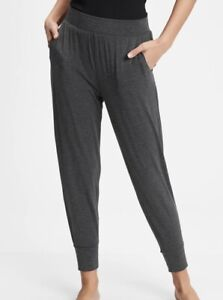 Love By Gap Joggers Sz Xs Pure Body Charcoal Gray Lounge Pants