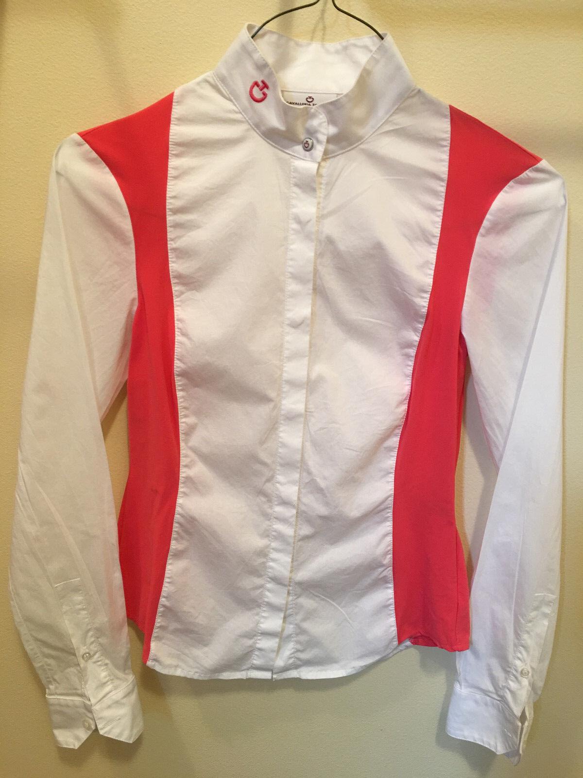 Cavalleria Toscana Show Shirt  - Small  on sale 70% off