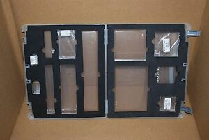 Close to My Heart Organizer Case with 8 Acrylic Blocks, Scrapbooking, Cardmaking
