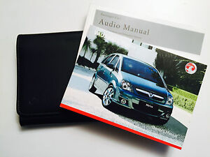VAUXHALL Meriva Owners handbook Manual Pack New