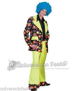Tg 70 Disco Costume Star Anni Abito Funky CtQsrhd
