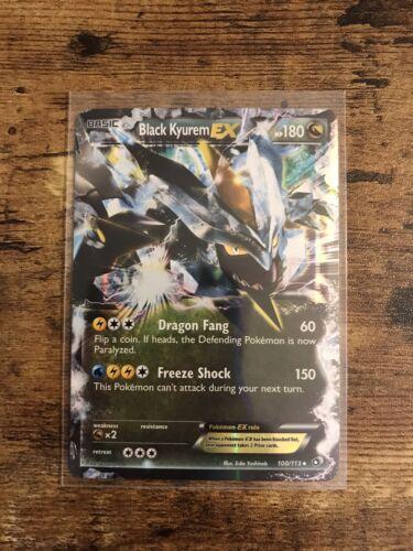Black Kyurem Ex 101/149 Boundaries Crossed Ultra Rare Holo Pokémon Card NM