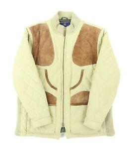 """Beretta Women Medium 43"""" Quilted Full Zip Hunting Jacket Polyester Nylon Pockets"""