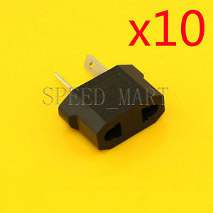 10 X US/EU To AU Australia Travel Charger Power Adapter Converter Wall Plug Home