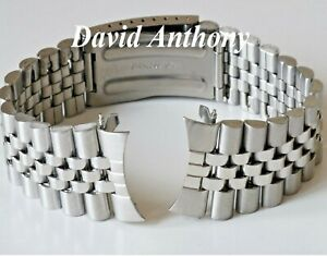 18mm-20mm-OR-22mm-JUBILEE-STYLE-LINK-WATCH-BRACELET-CURVED-ENDS-GOOD-QUALITY