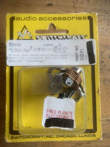 NOS Switchcraft 14BP1 Stereo Littel Jax