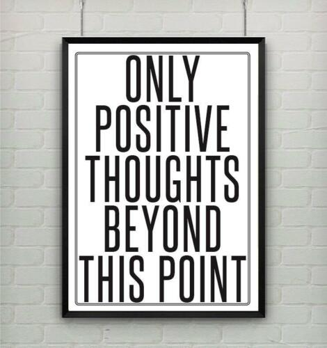 Motivational inspirational quote positive life poster picture print wall art 162