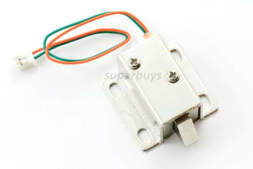 Electronic Latch Lock Catch Door Gate 12V Electric Release Assembly Solenoid
