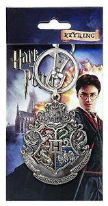 Harry-Potter-Hogwarts-Crest-Keyring-Keychain-Snitch-Magical-HP-Hogwarts-Official