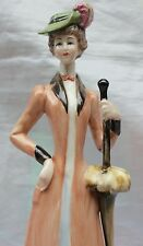 Vintage Galos Early 20th century Spanish Fashionista Lady with Umbrella 1414 S