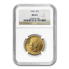$10 Indian Gold Eagle - Random Year - MS-63 NGC - SKU #23201