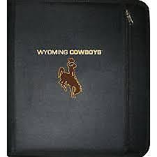 NCAA Wyoming Cowboys 3-Ring Zippered Binder