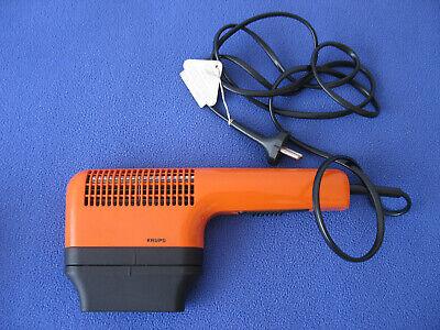 Krups, 70er Orange Haartrockner Typ 408 800 Watt Mit Düsenaufsatz! - Gebraucht Gesundheit Effektiv StäRken
