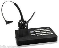 Handsfree Wireless Bluetooth Headset System For Telephone Landline, Mobile Phone