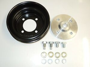 Supercharger-Kit-Part-Crank-Pulley-to-suit-Holden-Commodore-VN-VY-V6-Powerdyne