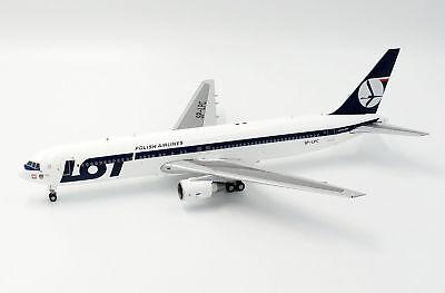 JC Wings JC2165 1//200 Lot Polish Airlines Boeing 767-300ER SP-LPC avec support