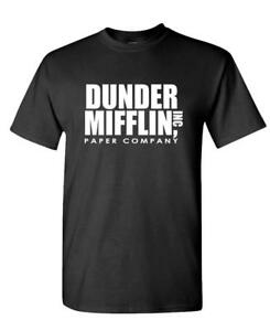 DUNDER-MIFFLIN-PAPER-INC-office-tv-show-Mens-Cotton-T-Shirt