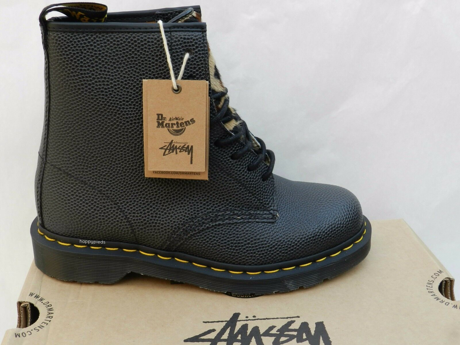 Dr Martens 1460 Stussy Zapatos Mujer Limitée Hombre 40 botas Edition Limitée Mujer Neuf 6ea56b