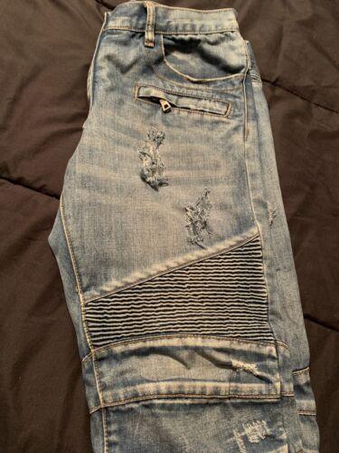 balmain jeans Custom Distressed