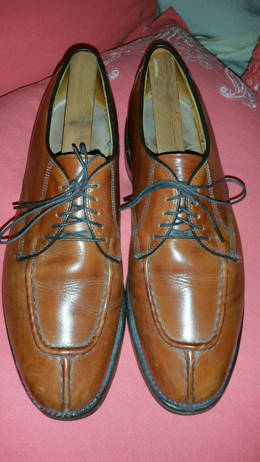 Allen Edmonds Edmonds Edmonds braun Oxfords Sz 9.5 D Dellwood dress casual 59955b