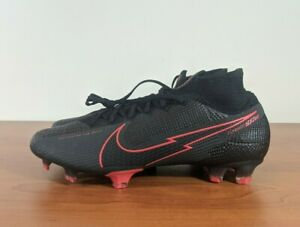 Nike Mercurial Superfly 7 Elite FG football crampons noir rouge AQ4174-060 Multi Taille