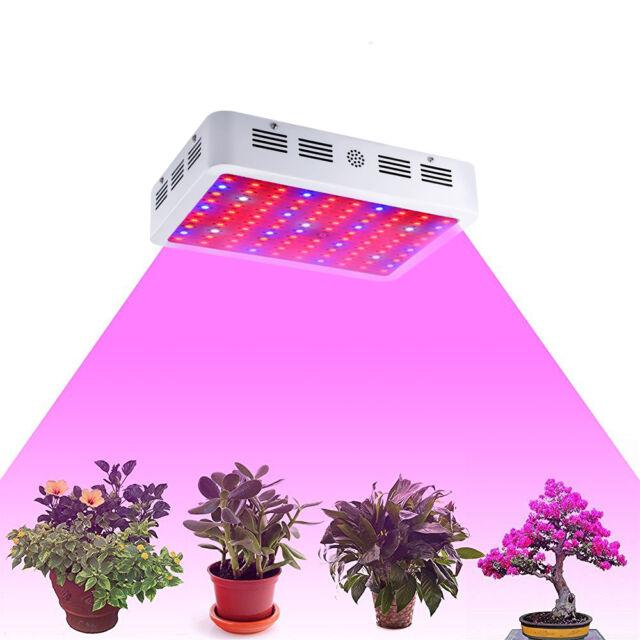 1000W Double Chip LED Grow Light Lamp Full Spectrum for Medical Indoor Plant Veg
