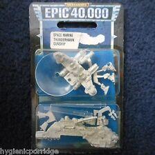 1997 Epic Imperial Space Marine Thunderhawk Gunship Citadel 40K Warhammer MIB GW