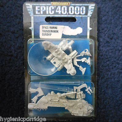 6mm Epic 40K Armageddon Space Marine Thunderhawk Gunship