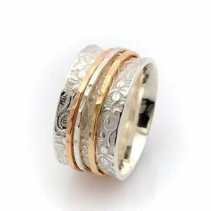 Moonstone Ring*Handmade Ring*925 Sterling Silver Band Ring*Statement Ring*Meditation Ring*Gift Her*Free Shipping *Women Ring*Finger Ring