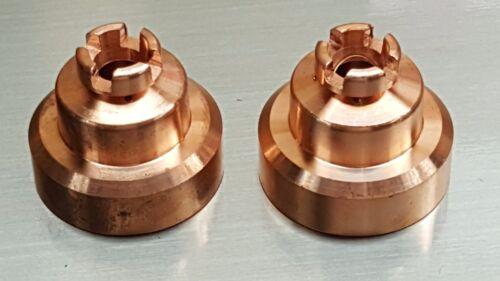 2 x 60504 Shield End Cap for iPT80 PT80 PT-80 Plasma Torch Everlast® 70s 80s