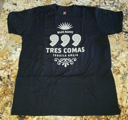 Tequila Black T SHIRT Size 3XL 100/% Cotton Nano T LOT 2