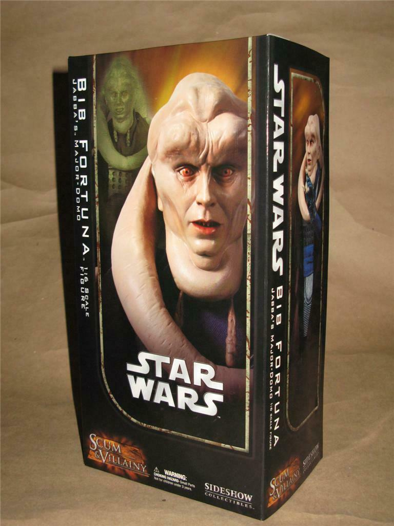 Star Wars Bib Fortuna 12  Action Figure Sideshow Collectibles FACTORY SEALED