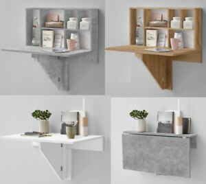Arta Folding Wall Mounted Desk Shelf Storage Hallway Phone Table