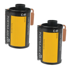 2 Rolls Kodak Portra 400 35mm Pro Color Negative Film (ISO-400) 36 FRESH Film