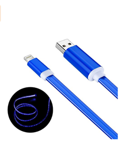 Details about WireBeam iPhone Lightning Charger Cable, LED Glow in the Dark