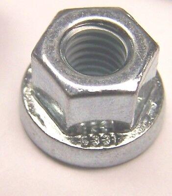 DIN 6331 verzinkt 8 Sechskantmuttern Muttern mit hohem Bund M10 1,25  ähnl