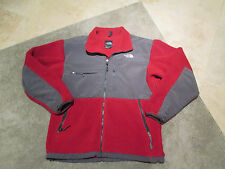 The North Face Jacket Size Adult Large Nylon Fleece Coat Red Winter